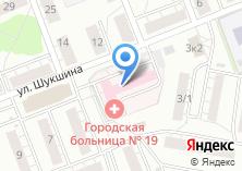 Компания «Сеть аптечных пунктов Муниципальная Новосибирская аптечная сеть» на карте