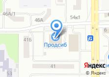 Компания «Эдем» на карте