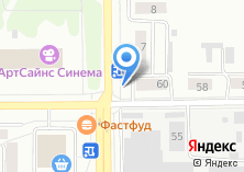 Компания «Народный» на карте