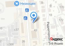 Компания «Жираф ТВ» на карте