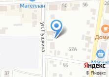 Компания «Лаира» на карте