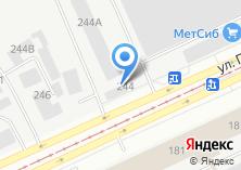 Компания «АБ ФИТНЕС» на карте