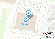 Компания «Metro Cash and Carry» на карте