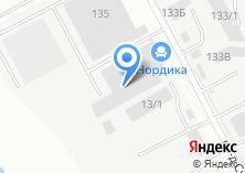 Компания «Нордика» на карте