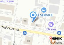 Компания «Алттраст» на карте