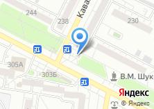 Компания «Русский фейерверк-Барнаул» на карте