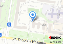 Компания «Строящийся жилой дом по ул. Георгия Исакова» на карте