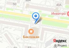 Компания «Дизайн+» на карте