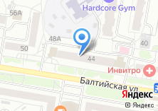 Компания «ТУСАРБАНК» на карте