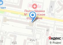 Компания «Магазин пряжи» на карте