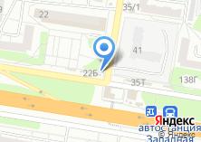 Компания «Родена» на карте