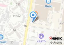 Компания «Автостекло торгово-сервисный центр Отдел по продаже автостекол» на карте