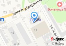 Компания «ССС» на карте