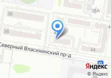 Компания «Лазурная» на карте
