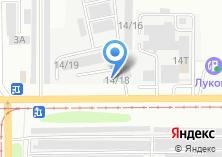 Компания «ТехКлиник» на карте
