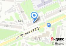 Компания «Алтайская Ассоциация Дедов Морозов» на карте