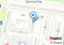 Компания «Управление по строительству и архитектуре Администрации Индустриального района» на карте