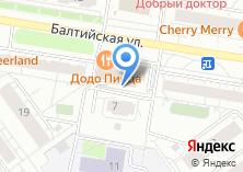 Компания «Строящийся жилой дом по ул. Балтийская» на карте