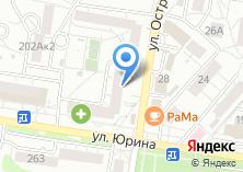Компания «Мэди» на карте