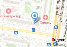 Компания «Koyot кафе-бар» на карте