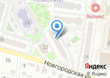 Компания «Элита-Нск торговая компания» на карте