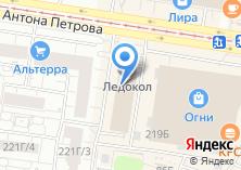 Компания «Акциз-мебель» на карте