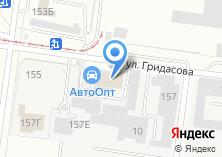 Компания «АВТООПТ» на карте