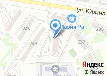 Компания «Строящийся жилой дом по ул. Юрина» на карте