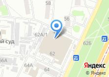 Компания «Кружева» на карте