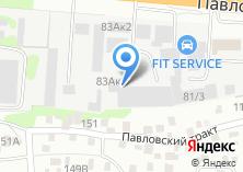 Компания «PrinterON» на карте