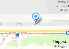 Компания «СДЮСШОР №12» на карте