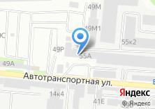 Компания «АлтайТехноДом» на карте