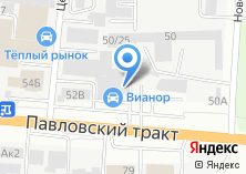 Компания «АвтоГипер» на карте