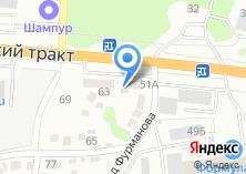 Компания «Барнаульский автоцентр КАМАЗ» на карте