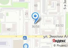 Компания «Евростандарт» на карте