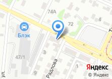 Компания «Автолэнд22» на карте