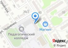 Компания «Общежитие Барнаульский государственный педагогический колледж» на карте
