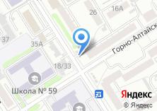 Компания «Сибмарко Алт» на карте