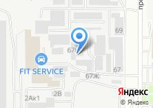 Компания «Барнаульская служба заказа легкового транспорта» на карте