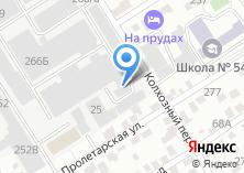 Компания «Зенит» на карте