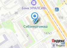 Компания «АлтайПринт» на карте
