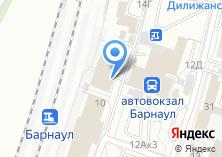 Компания «Пригородный железнодорожный вокзал» на карте