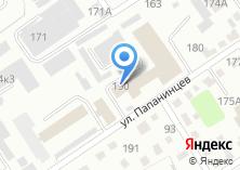 Компания «Специализированная пожарная часть по тушению крупных пожаров Главного Управления МЧС России по Алтайскому краю» на карте