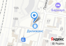 Компания «Билайн» на карте