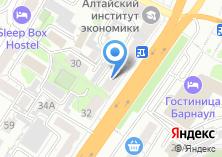 Компания «М-город» на карте