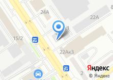 Компания «АГАС» на карте