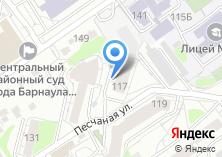 Компания «Алтай-Керама» на карте