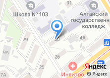 Компания «Айсель салон цветов» на карте