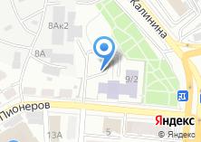 Компания «Алтайский краевой дворец творчества детей и молодежи» на карте