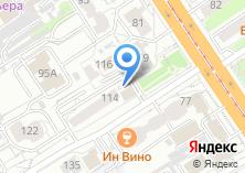 Компания «Барнаулкапстрой» на карте